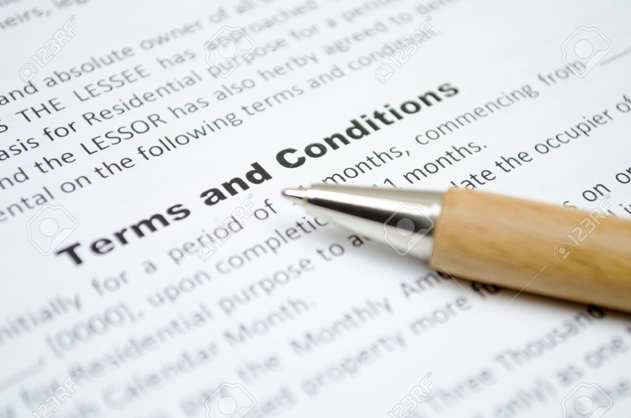 <h1>Terms & Conditions</h1>